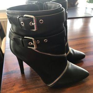 Black Booties 7.5